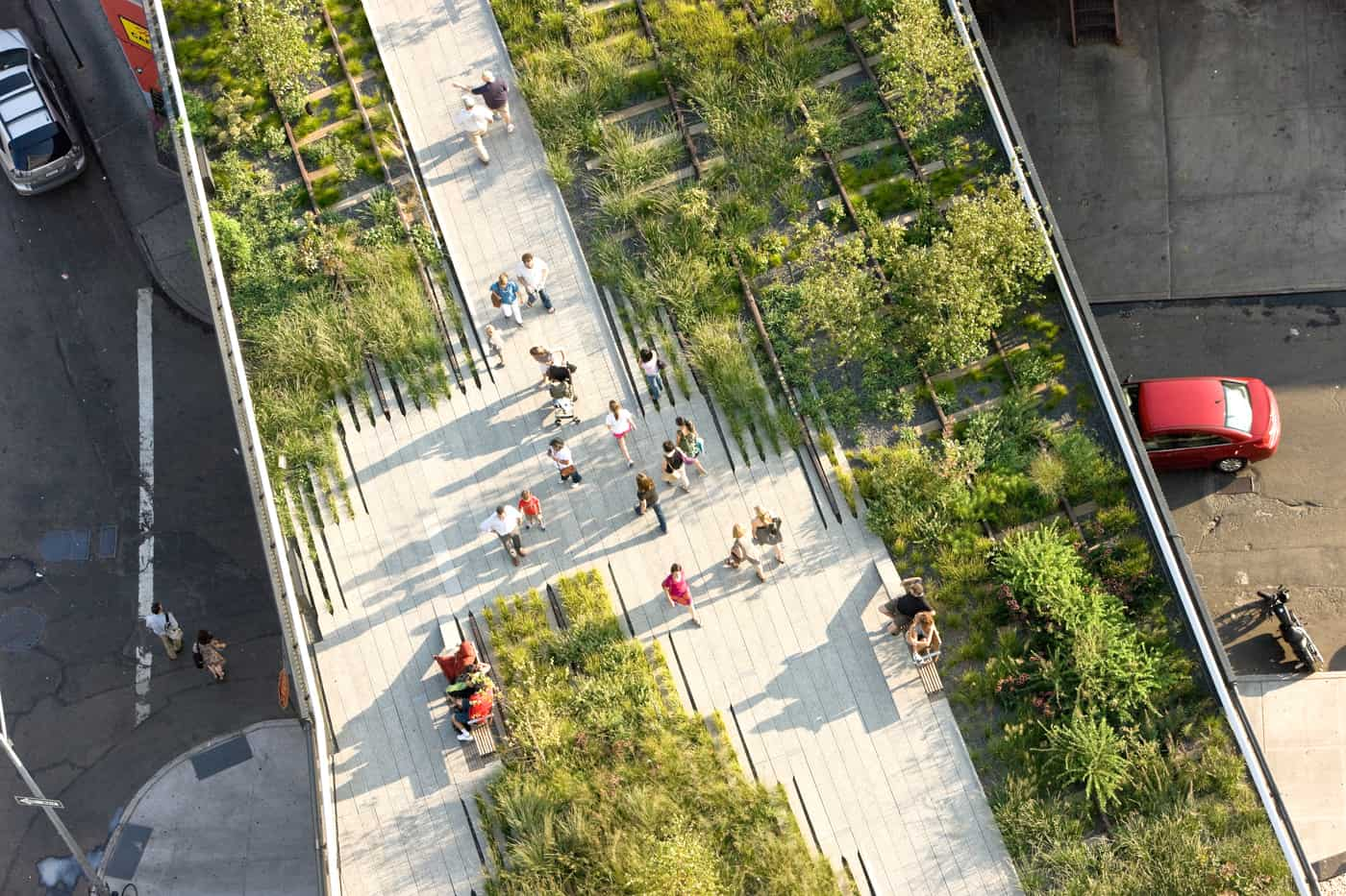 High Line Park New York 1400 x 933
