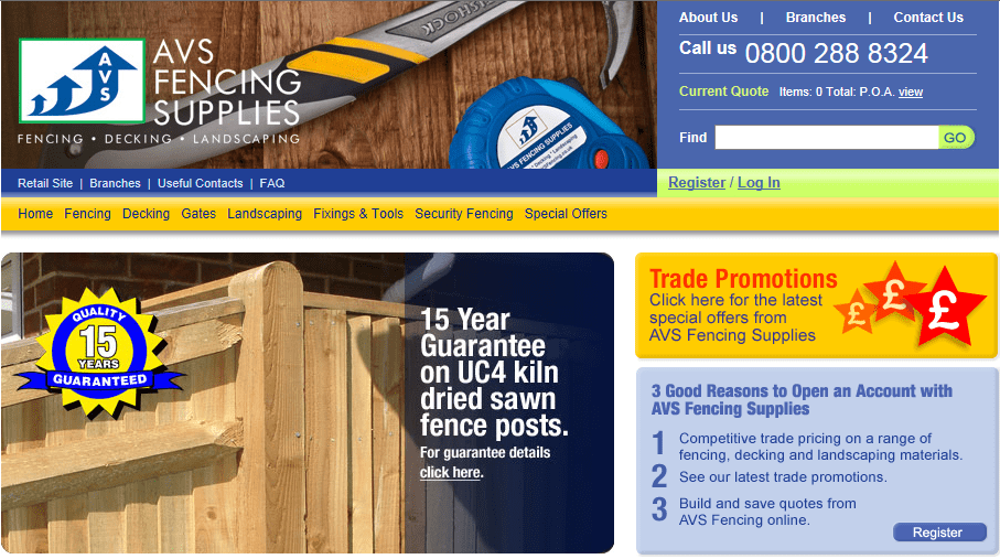 Avs Fencing Supplies 163 50 Off Your Next Order Pro