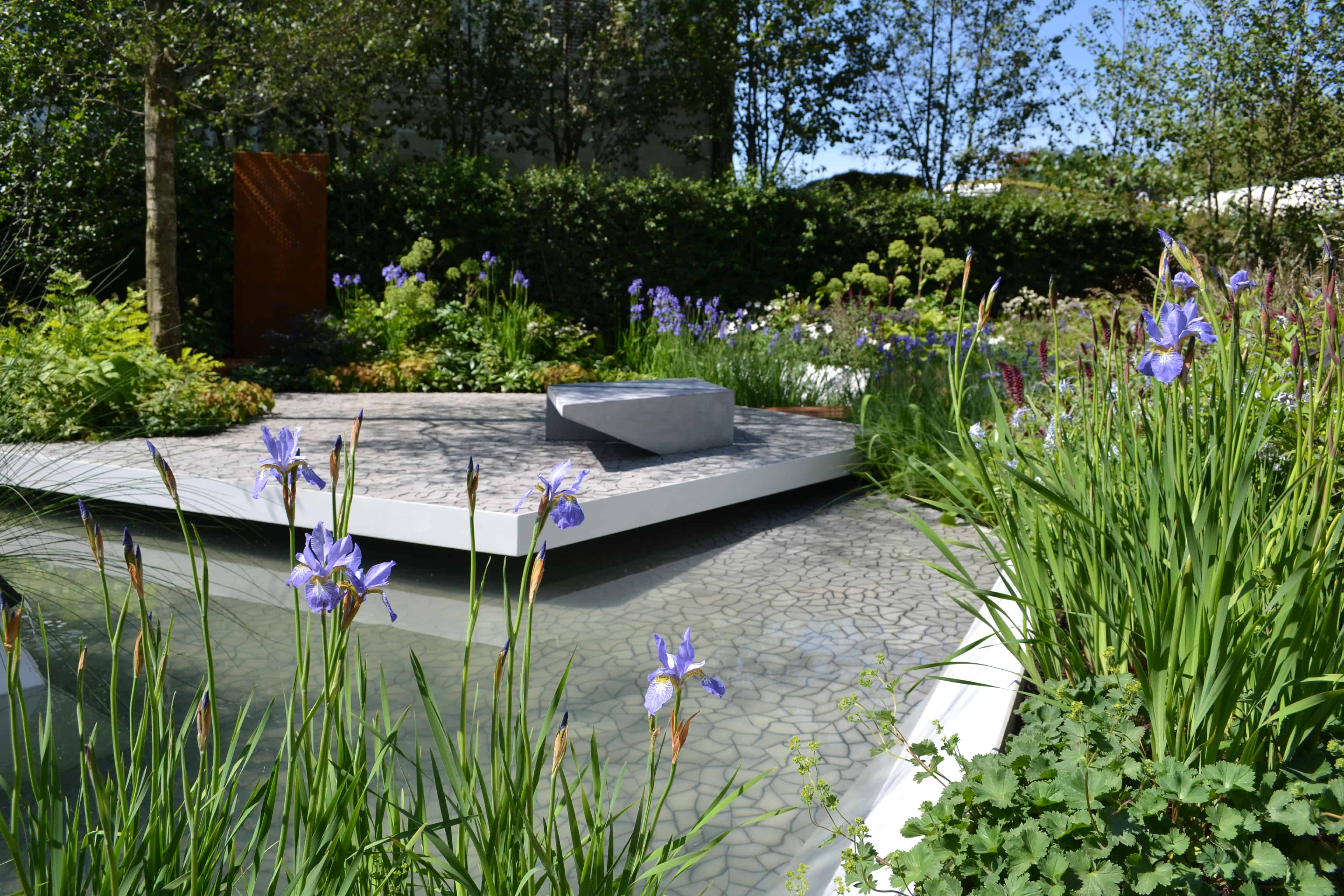 Bali members success at chelsea flower show pro for Waterscape garden designs