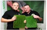 Josh Bartlett and David Lowe of LazyLawn East Riding - SGB_1523
