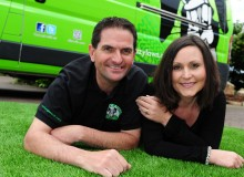 Haydn and Amanda Ford of LazyLawn Derbyshire - SGB_7534