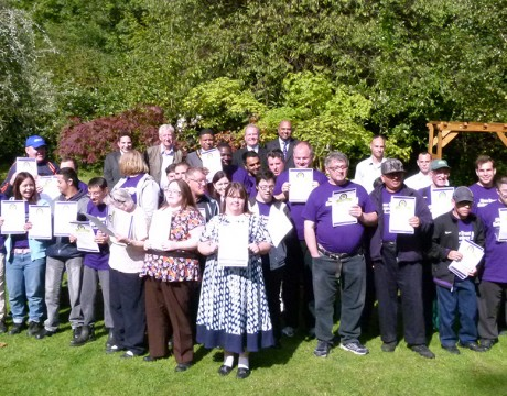 Sowing the seeds of success - Shaw Trust Enterprises - Clamp Hill hosts awards ceremony