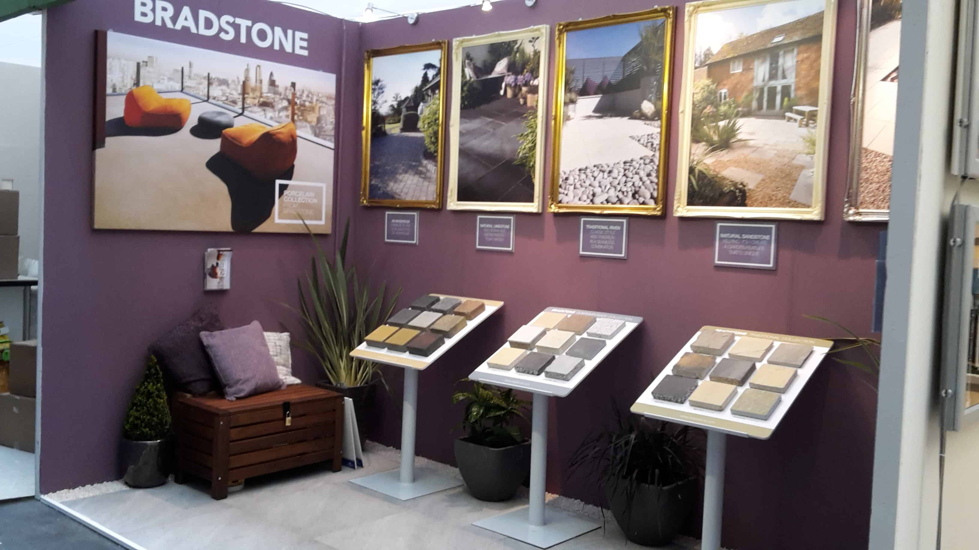bradstone showcases 2015 collection at ideal home show
