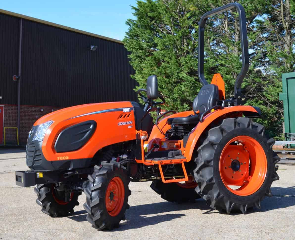 Kioti Tractor Seat : Reco announce launch of new ck tractor series models