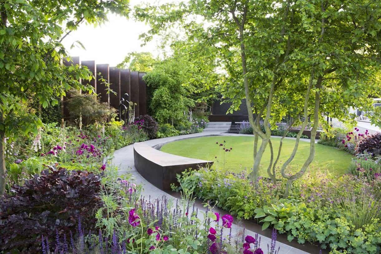 Gold medal for the chelsea barracks garden - Chelsea flower show gold medals ...