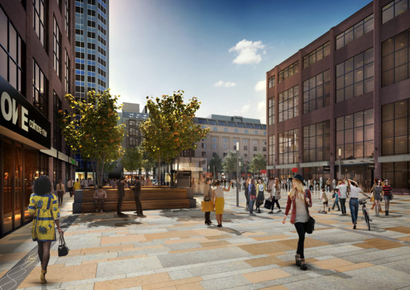 Broadway malyan appointed on major birmingham public realm for Broadway malyan