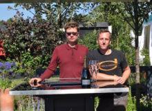 L-R Michael John McGarr and Robert Warnes, silver winners, RHS Tatton 2016