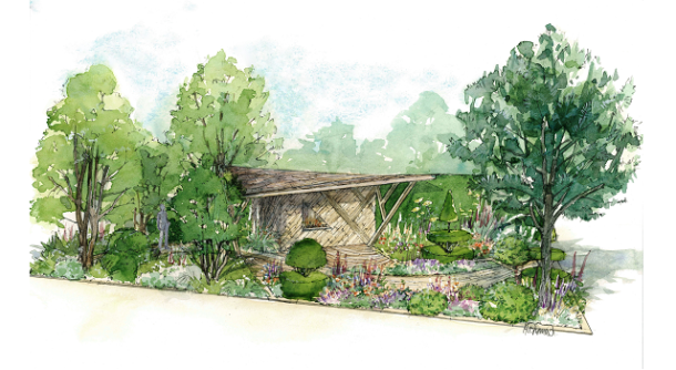 The morgan stanley garden designed by chris beardshaw wins for Bbc garden designs