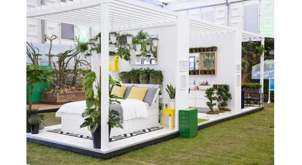 Indoor Garden Design brings plants into the home at RHS Chelsea