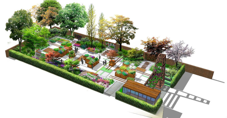 Students Win Competition to Design RHS Learning Garden